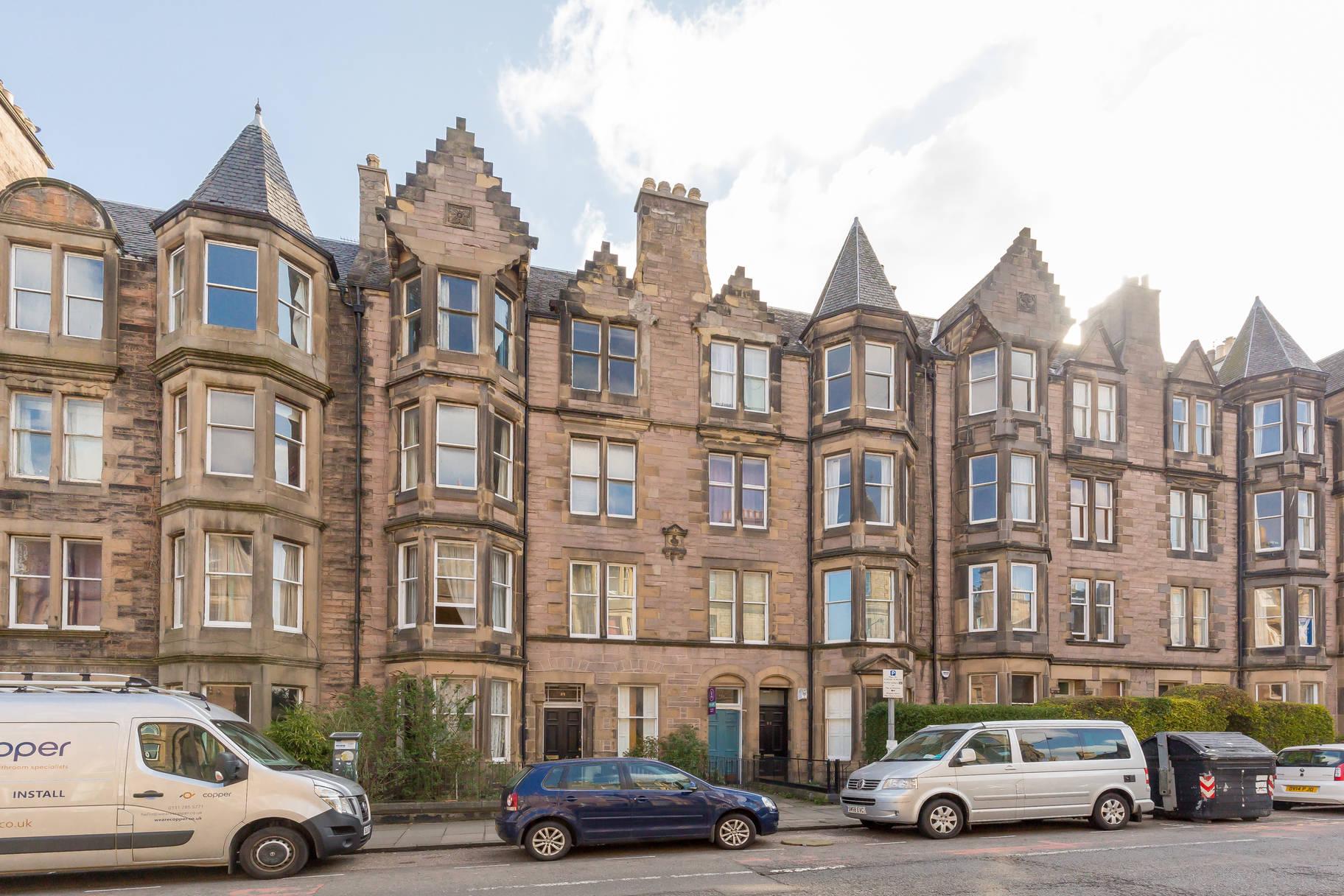 91 (3F1) Marchmont Road, Edinburgh, EH9 1HB