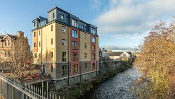 Apartment 6 Gala Water Apartments, Galashiels
