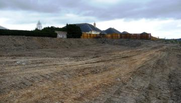Building Plot at Sentry Knowe , Selkirk